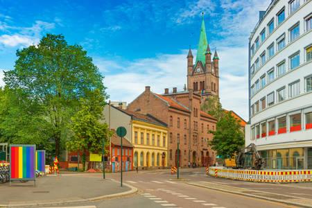Street view in Oslo