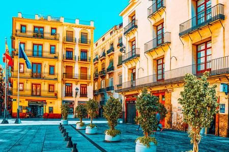 Manises Square in Valencia