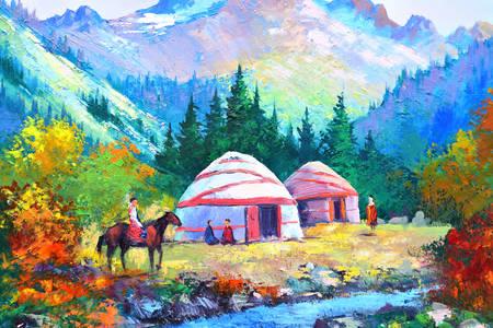 Jurty v horách