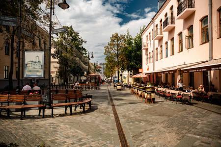 Улица Комсомолская в Минск