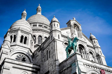 Sacre Coeur-bazilika Párizsban