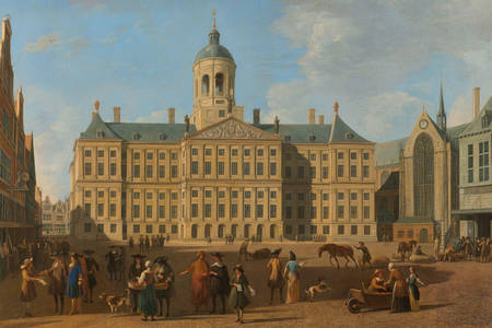 Gerrit Adriaensz. Berckheyde: The Town Hall on the Dam