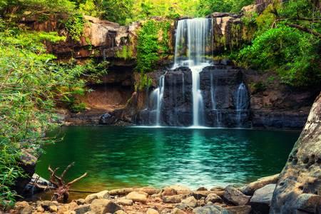 Klong Chao-waterval op Koh Kood-eiland