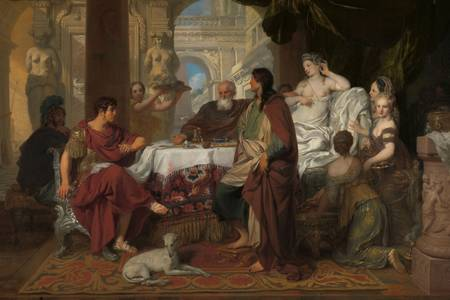 "Gerard de Lairesse: ""The banquet of Cleopatra"""