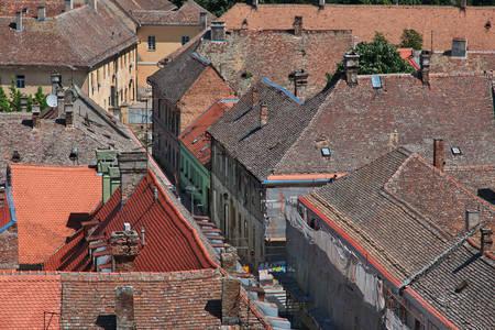 Крыши в городе Нови-Сад