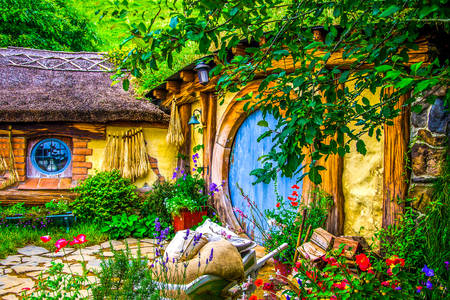 Houses in Hobbiton