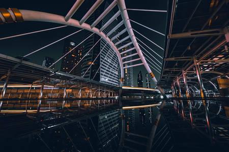 Architecture moderne de Bangkok