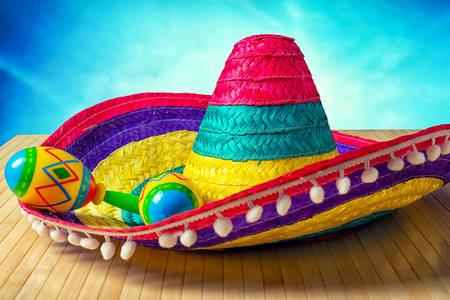 Sombreros and maracas
