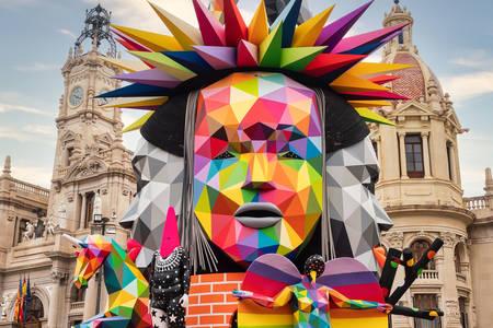 Esculturas para Las Fayas em Valência