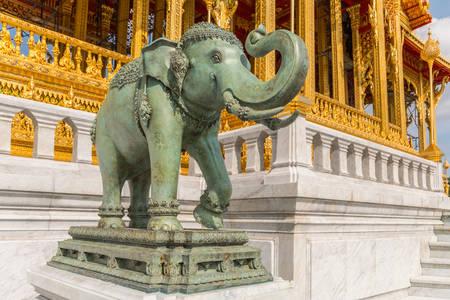 Elephant statue in Dusit palace