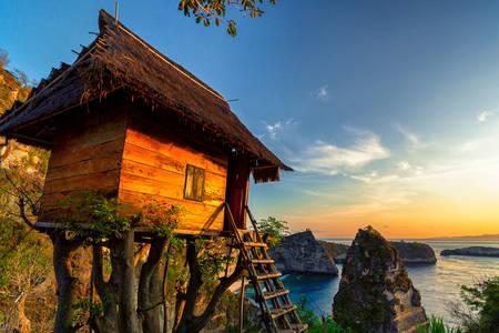 Дом на острове Нуса-Пенида