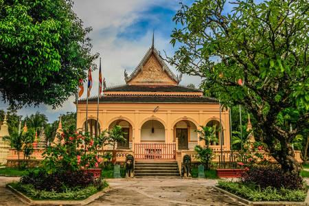 Wat Damnak Pagoda in Siem Reap