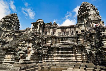 Tempelarchitektur von Angkor Wat