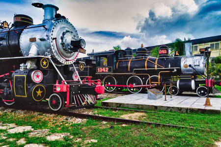 Trains to Santa Clara