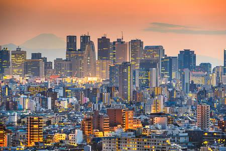 Evening Tokyo