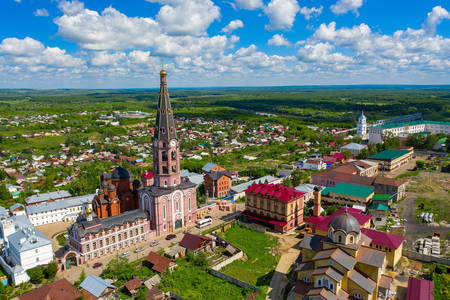 Свято-Троїцький монастир міста Алатир
