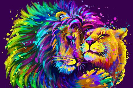 Leu și leoaică