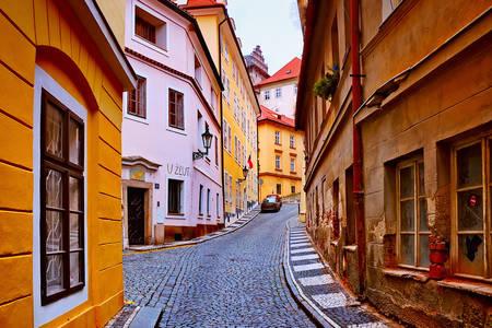 Vecchie strade a Praga