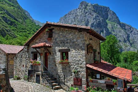 Casa en las montañas