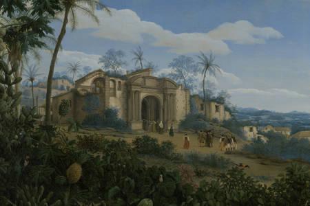 """Франс Янс Пост: """"Вид на Олинду, Бразилия"""""""