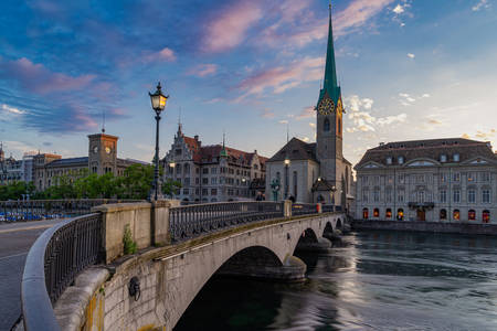 Munster Bridge in Zurich