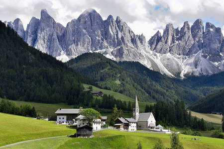 Village of Santa Maddalena