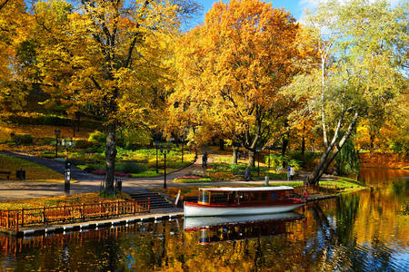 Stadspark in Riga