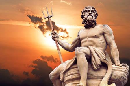 Statue von Poseidon