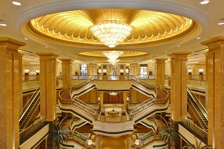 Emirate Palace luxury hotel
