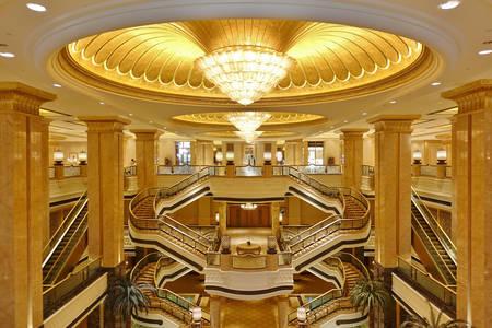Hotel de luxo Emirate Palace