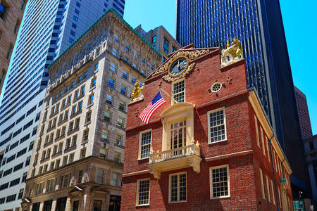 Old Capitol Building in Boston