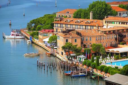 Promenade on Giudecca Island