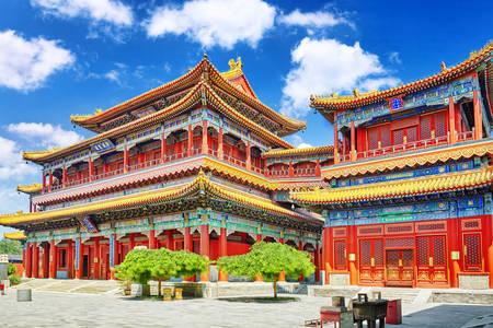 Yonghegong Tybetańska świątynia buddyjska