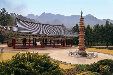 Pohyun-sa korean Buddhist temple