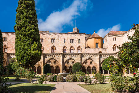 Courtyard of the Cathedral of Tarragona