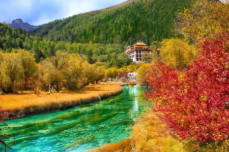Chonggu Monastery River
