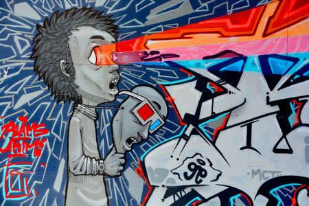 Graffiti z Montrealu