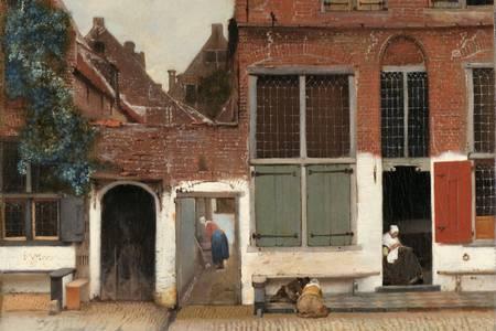 "Jan Vermeer: ""Ulička"""