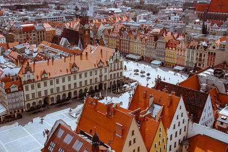 Architecture of Wroclaw
