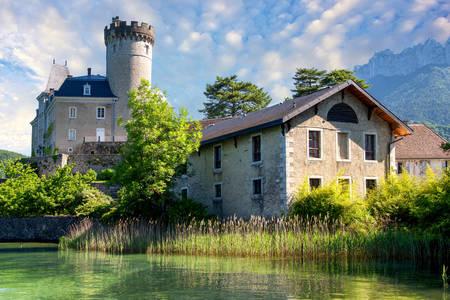 Srednjovjekovni dvorac Annecy