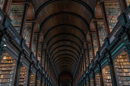 Biblioteca do Trinity College Dublin