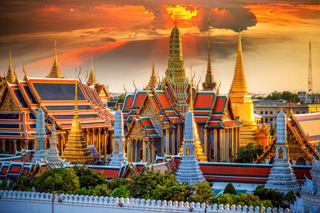 "Temple of the ""Emerald Buddha"""