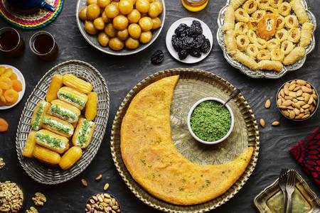 Desserts arabes