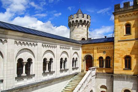 Architektura zamku Neuschwanstein