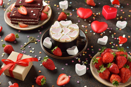 Romantic desserts for Valentine's Day