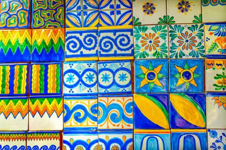 Meksykańskie płytki ceramiczne