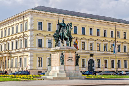 Statue of King Ludwig I in Munich