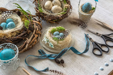 Easter eggs for home decoration