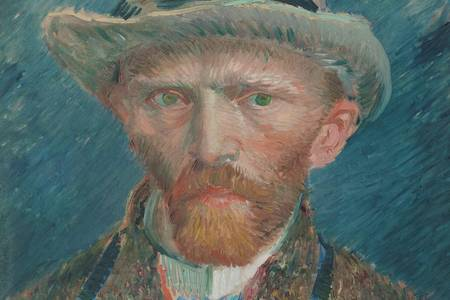 "Vincent Van Gogh: ""Self Portrait"""