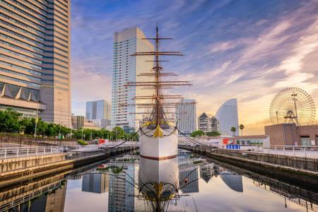 """Navio-museu """"Nippon Maru"""""""